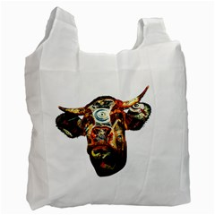 Artistic Cow Recycle Bag (One Side)