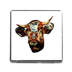 Artistic Cow Memory Card Reader (Square)