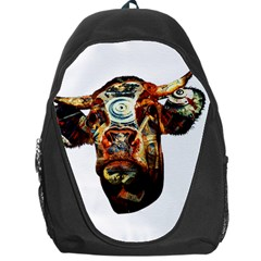 Artistic Cow Backpack Bag