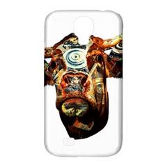 Artistic Cow Samsung Galaxy S4 Classic Hardshell Case (PC+Silicone)