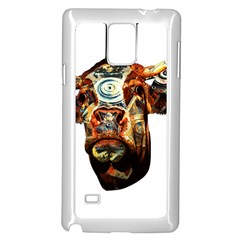 Artistic Cow Samsung Galaxy Note 4 Case (White)