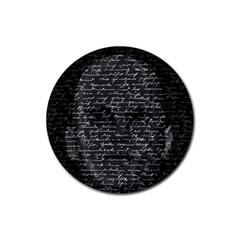Silent Rubber Round Coaster (4 pack)