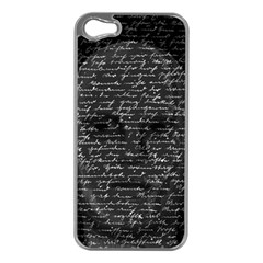 Silent Apple iPhone 5 Case (Silver)