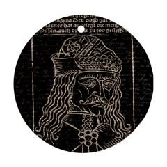Count Vlad Dracula Ornament (Round)