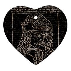 Count Vlad Dracula Ornament (Heart)