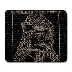 Count Vlad Dracula Large Mousepads
