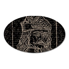 Count Vlad Dracula Oval Magnet