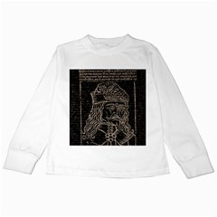 Count Vlad Dracula Kids Long Sleeve T-Shirts