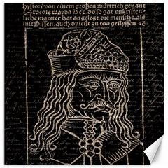 Count Vlad Dracula Canvas 12  x 12