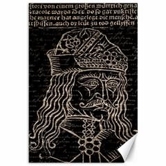 Count Vlad Dracula Canvas 12  x 18