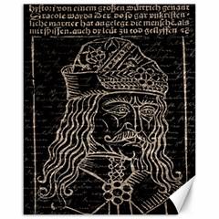 Count Vlad Dracula Canvas 16  x 20