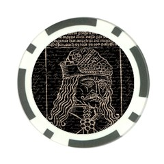 Count Vlad Dracula Poker Chip Card Guard (10 pack)