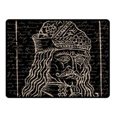 Count Vlad Dracula Fleece Blanket (Small)