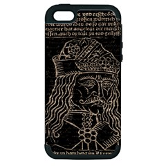 Count Vlad Dracula Apple iPhone 5 Hardshell Case (PC+Silicone)