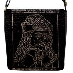 Count Vlad Dracula Flap Messenger Bag (S)