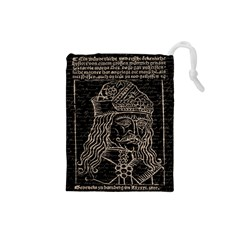 Count Vlad Dracula Drawstring Pouches (Small)