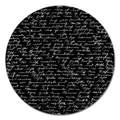 Handwriting  Magnet 5  (Round)