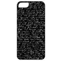 Handwriting  Apple iPhone 5 Classic Hardshell Case