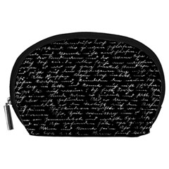 Handwriting  Accessory Pouches (Large)
