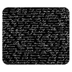 Handwriting  Double Sided Flano Blanket (Small)  50 x40 Blanket Back