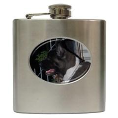 Akita second Hip Flask (6 oz)