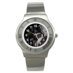 Akita second Stainless Steel Watch