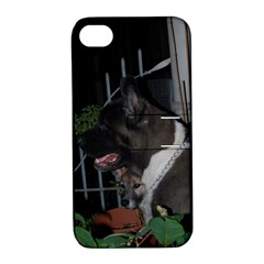 Akita second Apple iPhone 4/4S Hardshell Case with Stand