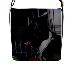 Akita second Flap Messenger Bag (L)