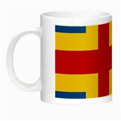 Flag of Aland Night Luminous Mugs