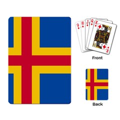 Flag of Aland Playing Card