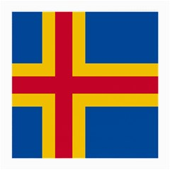 Flag of Aland Medium Glasses Cloth