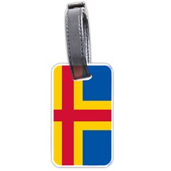 Flag of Aland Luggage Tags (One Side)
