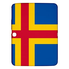 Flag of Aland Samsung Galaxy Tab 3 (10.1 ) P5200 Hardshell Case