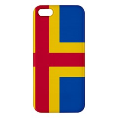 Flag of Aland iPhone 5S/ SE Premium Hardshell Case