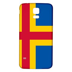 Flag of Aland Samsung Galaxy S5 Back Case (White)