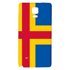 Flag of Aland Galaxy Note 4 Back Case