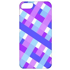 Geometric Plaid Gingham Diagonal Apple Iphone 5 Classic Hardshell Case