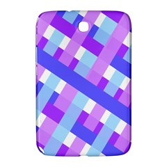 Geometric Plaid Gingham Diagonal Samsung Galaxy Note 8 0 N5100 Hardshell Case