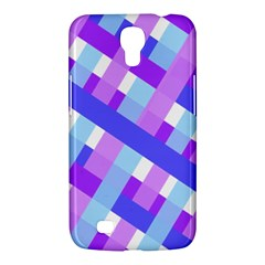 Geometric Plaid Gingham Diagonal Samsung Galaxy Mega 6.3  I9200 Hardshell Case