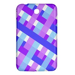 Geometric Plaid Gingham Diagonal Samsung Galaxy Tab 3 (7 ) P3200 Hardshell Case