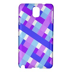 Geometric Plaid Gingham Diagonal Samsung Galaxy Note 3 N9005 Hardshell Case