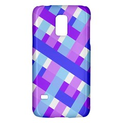 Geometric Plaid Gingham Diagonal Galaxy S5 Mini