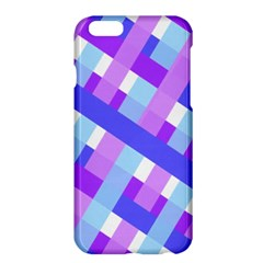 Geometric Plaid Gingham Diagonal Apple Iphone 6 Plus/6s Plus Hardshell Case