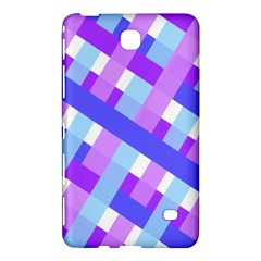 Geometric Plaid Gingham Diagonal Samsung Galaxy Tab 4 (7 ) Hardshell Case