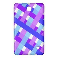Geometric Plaid Gingham Diagonal Samsung Galaxy Tab 4 (8 ) Hardshell Case
