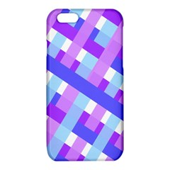 Geometric Plaid Gingham Diagonal iPhone 6/6S TPU Case