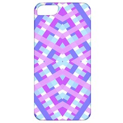 Geometric Gingham Merged Retro Pattern Apple iPhone 5 Classic Hardshell Case