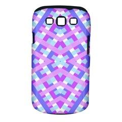 Geometric Gingham Merged Retro Pattern Samsung Galaxy S Iii Classic Hardshell Case (pc+silicone)
