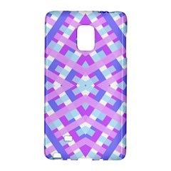 Geometric Gingham Merged Retro Pattern Galaxy Note Edge