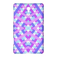 Geometric Gingham Merged Retro Pattern Samsung Galaxy Tab S (8.4 ) Hardshell Case